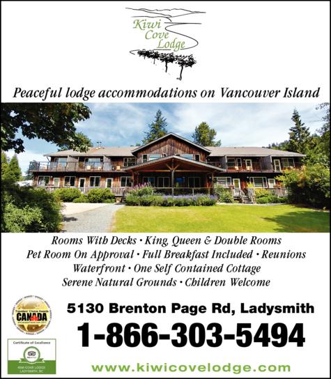 Print Ad of Kiwi Cove Lodge