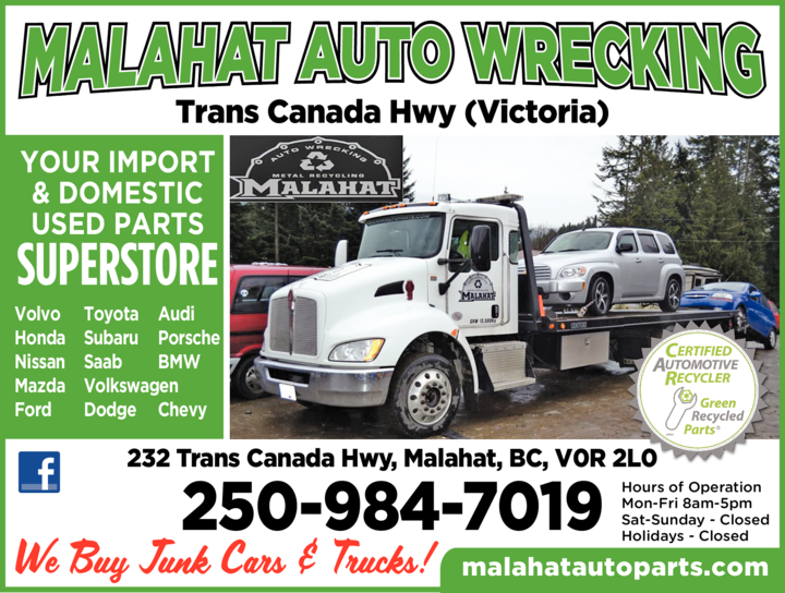 Print Ad of Malahat Auto Wrecking