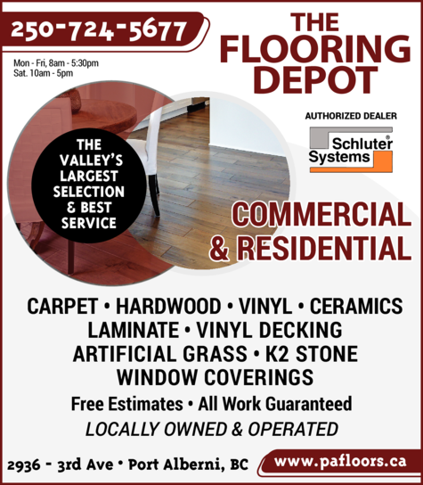 Print Ad of Flooring Depot The