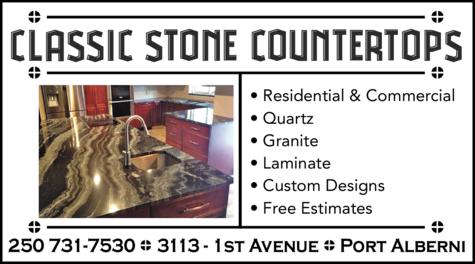 Print Ad of Classic Stone Countertops