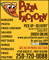 Print Ad of Pizza Factory
