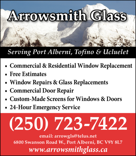 Print Ad of Arrowsmith Glass