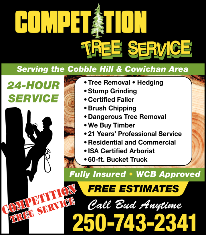 Print Ad of Competition Tree Service