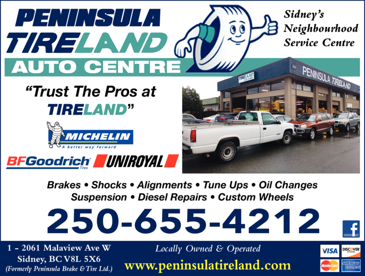 Print Ad of Peninsula Tireland Auto Centre