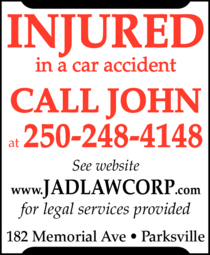 Print Ad of Davis John A Law Corp