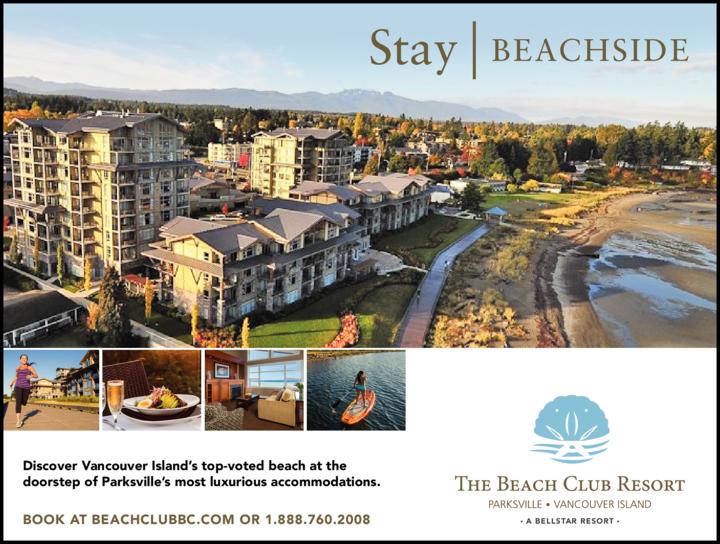 Print Ad of The Beach Club Resort
