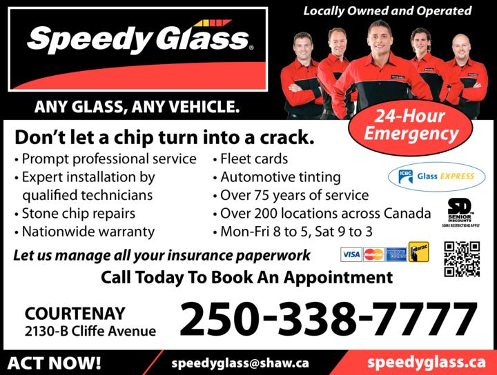 Print Ad of Speedy Glass