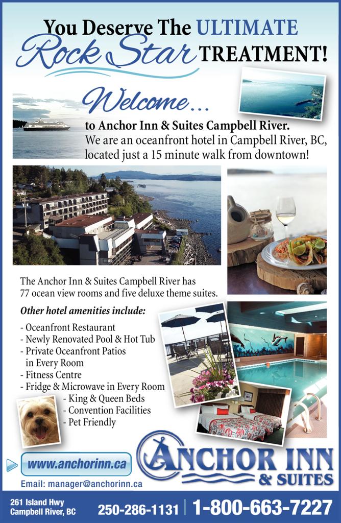 Print Ad of Anchor Inn & Suites