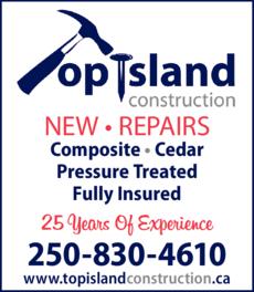 Print Ad of Top Island Construction