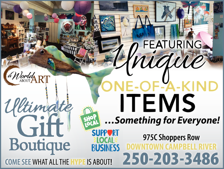 Print Ad of Ultimate Gift Boutique