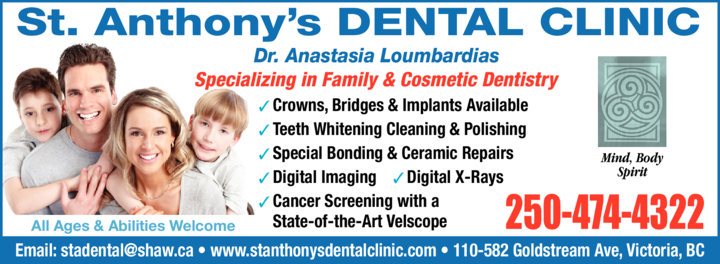 Print Ad of St Anthony's Dental Clinic