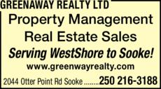 Print Ad of Greenaway Realty Ltd