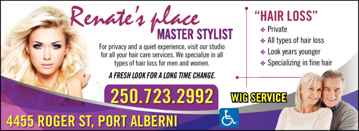 Print Ad of Renate's Place