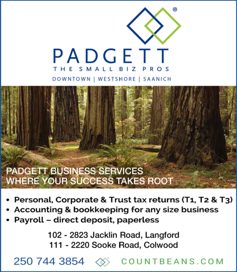 Print Ad of Padgett Business Services