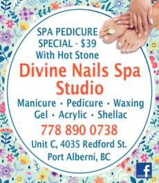 Print Ad of Divine Nails Spa Studio