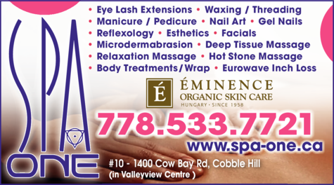 Print Ad of Spa One