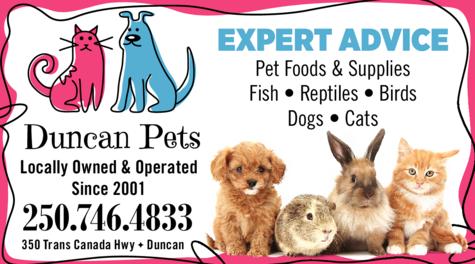 Print Ad of Duncan Pets