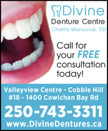 Yellow Pages Ad of Divine Denture Centre