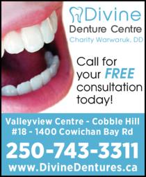 Print Ad of Divine Denture Centre