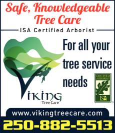 Print Ad of Viking Tree Care