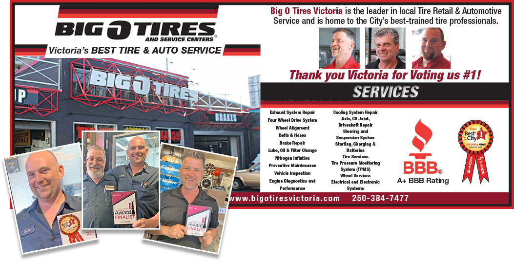 Photo uploaded by Big O Tires Victoria
