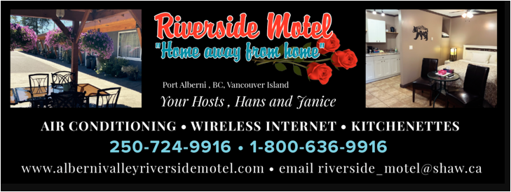 Print Ad of Riverside Motel