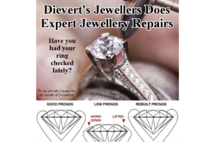 Photo uploaded by Dievert's Jewellers