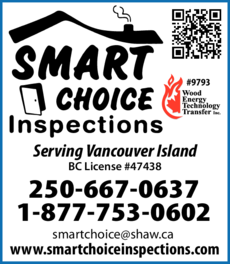 Yellow Pages Ad of Smart Choice Inspections