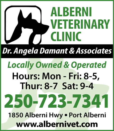 Print Ad of Alberni Veterinary Clinic