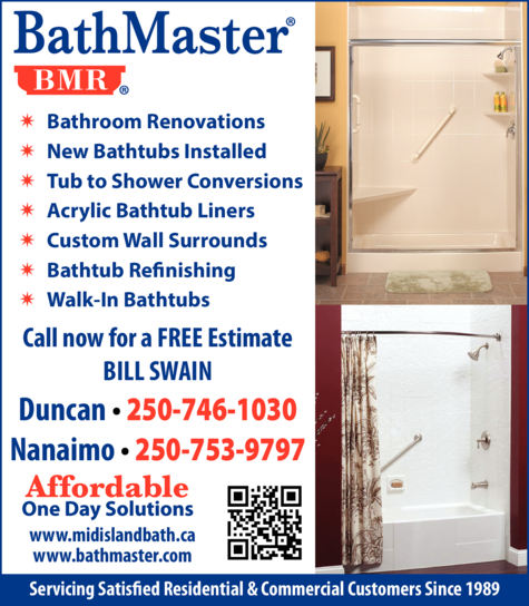 Print Ad of Bathmaster
