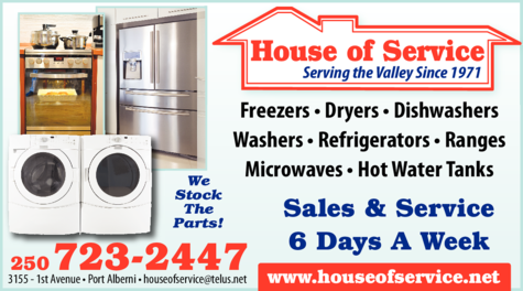 Print Ad of House Of Service