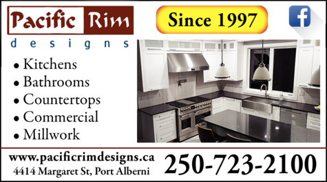 Print Ad of Pacific Rim Designs