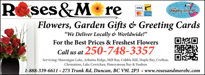 Print Ad of Roses & More