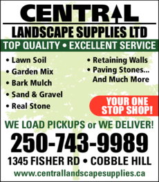 Yellow Pages Ad of Central Landscape Supplies Ltd