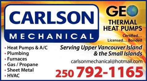 Print Ad of Carlson Mechanical