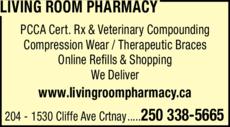 Print Ad of Living Room Pharmacy