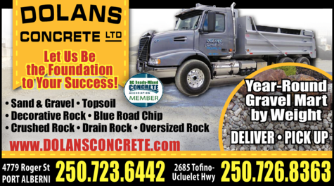 Print Ad of Dolan's Concrete Ltd