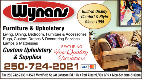 Print Ad of Wynans Furniture & Upholstery