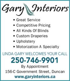 Print Ad of Gary Interiors Ltd