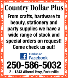 Print Ad of Country Dollar Plus