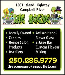 Print Ad of The Scene