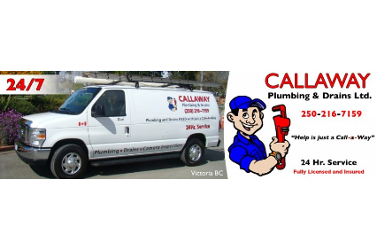 Photo uploaded by Callaway Plumbing & Drains Ltd