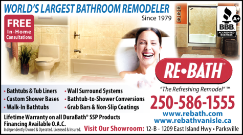 Print Ad of Re-Bath