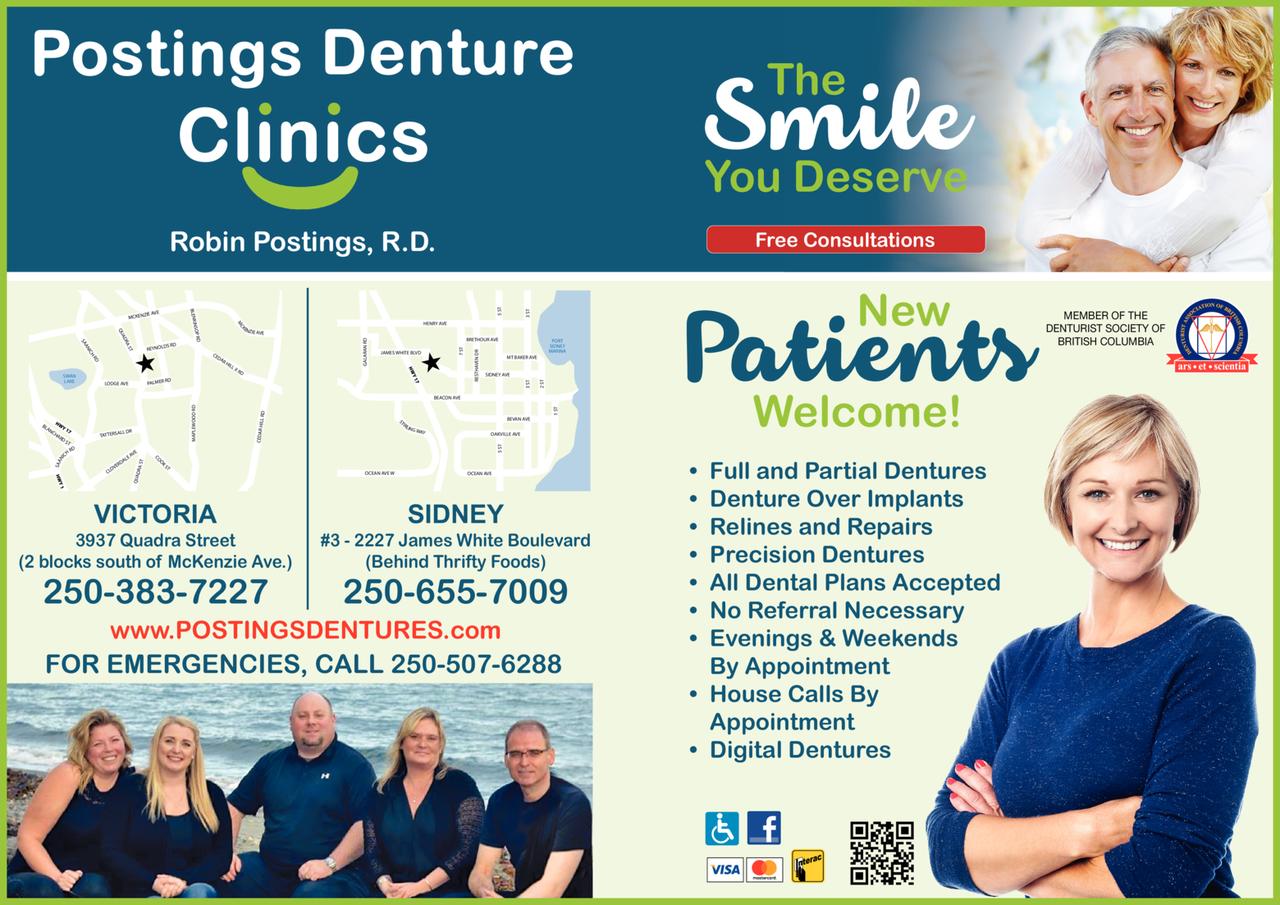 Print Ad of Postings Denture Clinics