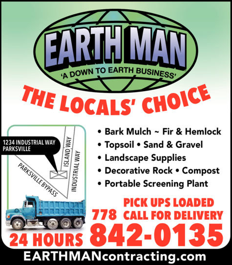 Yellow Pages Ad of Earthman Contracting