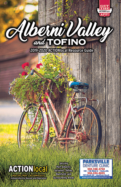 Alberni Valley Print Directory Cover