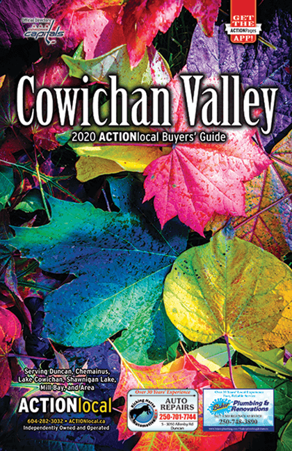 Cowichan Valley Print Directory Cover
