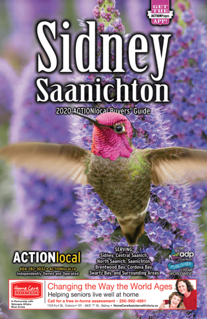 Sidney, BC Print Directory Cover