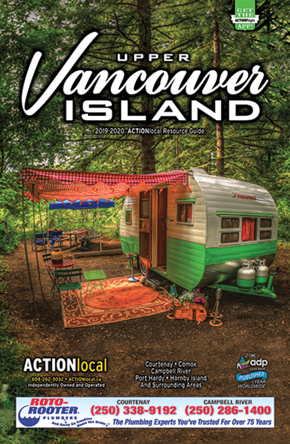 Upper Vancouver Island Print Directory Cover